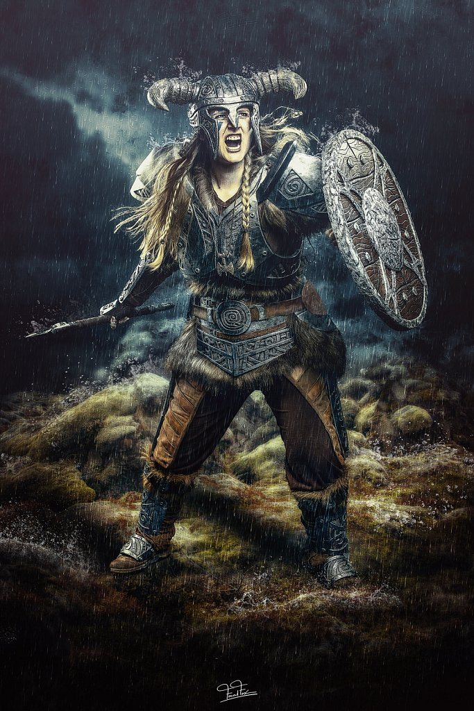 Skyrim - Hogal Cosplay